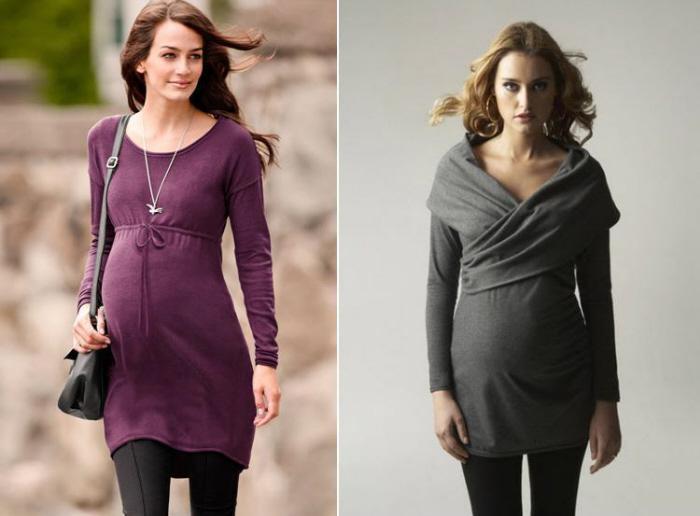 Какие платья носить беременным фото 37