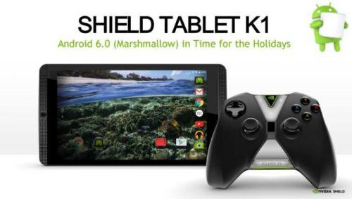 NVIDIA показала Android 6.0 Marshmallow на планшете Shield Tablet K1