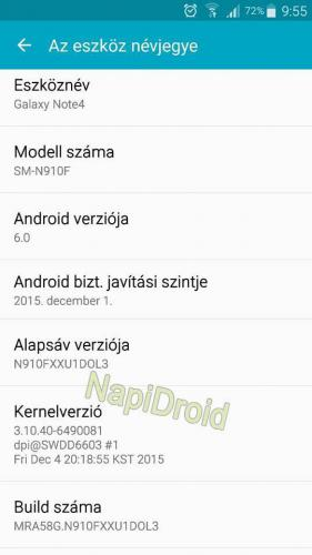 Samsung Galaxy Note 4 начал обновляться до Android 6.0 Marshmallow