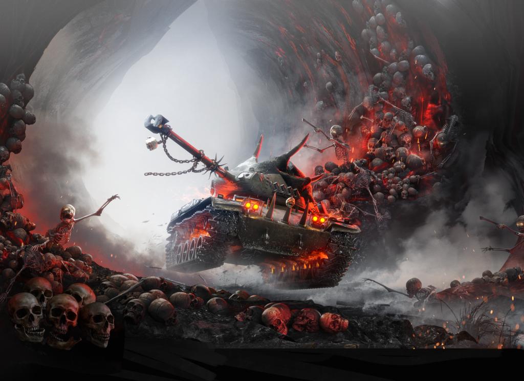 картинка левиафана из танков тема